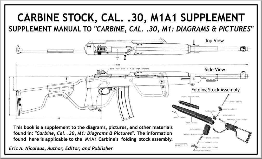 Carbine info blueprints posters mouse pads coffee mugs carbine stock cal 30 m1a1 supplement malvernweather Choice Image