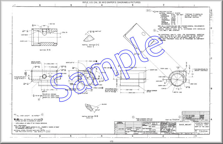 Garand Info, Blueprints, Posters, Mouse Pads, Coffee Mugs on